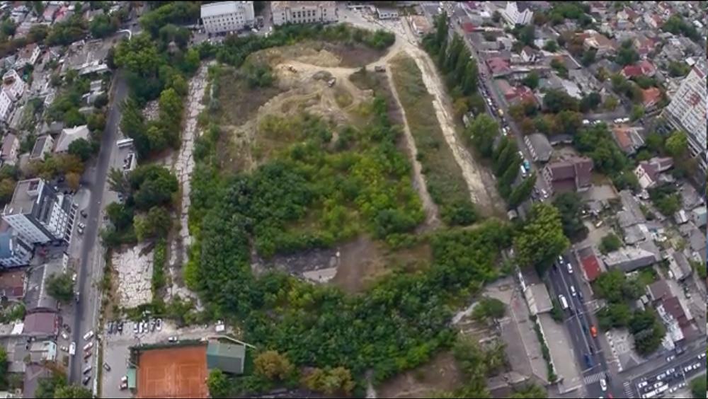 Теннисные корты на Республиканском стадионе в Кишинёве